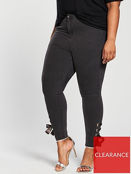 v-by-very-curve-eyelet-tie-side-jean-charcoal