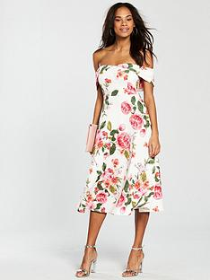 v-by-very-bardot-scuba-prom-dress-pink-print