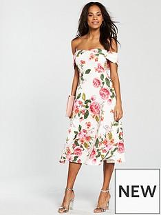 v-by-very-bardot-scuba-prom-dress-pink-print