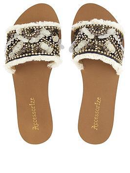 accessorize-florence-fringed-slider-sandals-multi