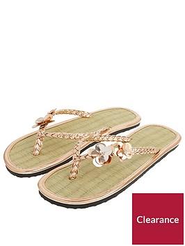 accessorize-accessorize-rose-gold-charmy-seagrass-flip-flop