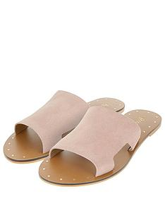 accessorize-ellen-suede-slider-sandals-brown