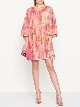 stine-goya-rose-house-print-chiffon-dress-multi