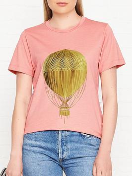 stine-goya-milo-hot-air-balloon-motif-t-shirt-pink