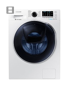 Samsung WD80K5410OW/EU 8kg Wash, 6kg Dry, 1400 Spin AddWash™ Washer Dryer with ecobubble™ Technology - White