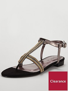 v-by-very-egypt-chain-detail-toe-post-sandal-metallic