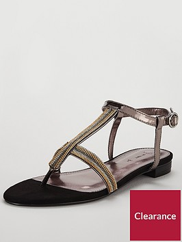 v-by-very-egypt-chain-detail-toe-post-sandal-metallic