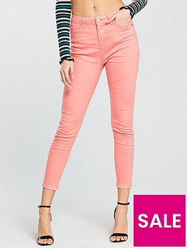 v-by-very-ella-high-waistednbspskinny-jean-pink
