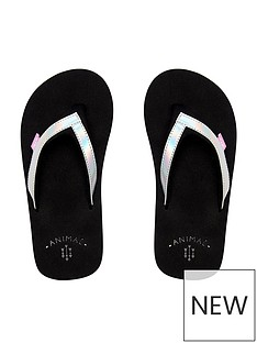 animal-metallic-flip-flop