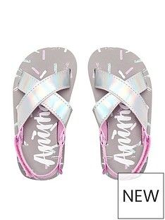 animal-younger-girls-metallic-sandal