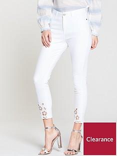 v-by-very-ella-high-rise-cropped-cutwork-skinny-jean-white