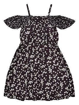 v-by-very-girls-bardot-dress-ndash-floral-print