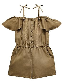 v-by-very-girls-khaki-playsuit