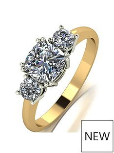 moissanite-the-royal-trilogy-9ct-gold-cushion-centre-14ct-total-eq-moissanite-ring