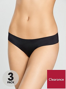 dorina-3-pack-thong-black