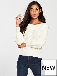 miss-selfridge-bardot-knitted-jumper