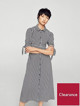 mango-shirt-dress-stripe