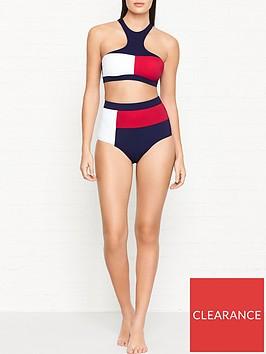 tommy-hilfiger-flag-logo-bralette-bikini-top-whiterednavy