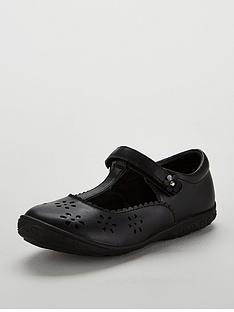 mini-v-by-very-girls-matilda-t-bar-flower-shoes-black
