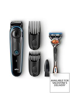 Braun Beard Trimmer BT3040 andGillette Fusion ProGlide manual razor Best Price, Cheapest Prices