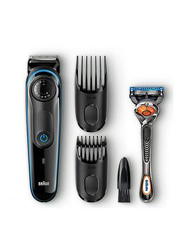 Braun Beard Trimmer Bt3040 And Gillette Fusion Proglide Manual Razor