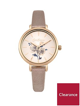 cath-kidston-island-bunch-metallic-rose-gold-strap-ladies-watch