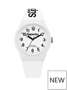 superdry-superdy-urban-white-dial-white-silicone-strap-unisex-watch