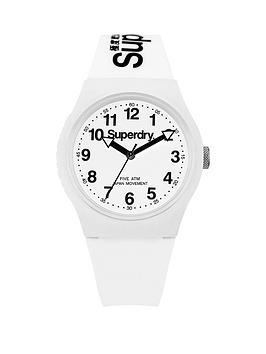 superdry-urban-white-dial-white-silicone-strap-unisex-watch