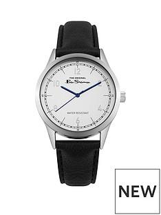 ben-sherman-ben-sherman-silver-dial-black-pu-strap-gents-watch