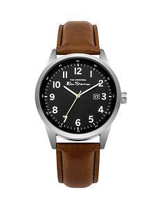 ben-sherman-ben-sherman-black-dial-date-feature-tan-pu-strap-gents-watch