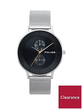 police-police-berkley-black-multi-dial-stainless-steel-mesh-strap-gents-watch