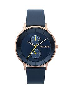 police-police-berkley-blue-multi-dial-blue-leather-strap-gents-watch