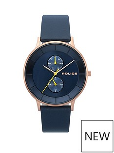 police-police-berkley-blue-multi-dial-blue-leather-strap-gents-watch