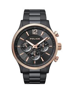 police-police-feral-black-multi-dial-black-stainless-steel-bracelet-gents-watch