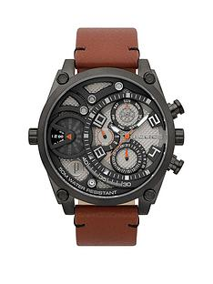 police-police-vigor-gun-multi-dial-tan-leather-strap-gents-watch