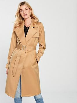 V By Very Trench Coat - Camel