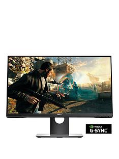 dell-s2417dg-238-inch-qhd-2560x1440-tn-165hz-1ms-nvidia-g-synctrade-display-port-usb-30-widescreen-led-gaming-monitornbspwithnbsp3-year-warranty-black