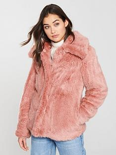 v-by-very-short-faux-fur-jacket-pink