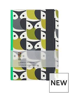 orla-kiely-orla-kiely-a5-hardbook-notebook-owl