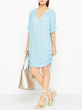 seafolly-bali-hai-textured-gauze-beach-shirt--blue