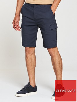 v-by-very-cargo-pocket-shorts-navy