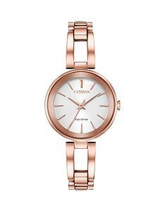 citizen-eco-drive-white-dial-rose-gold-tone-bracelet-ladies-watch