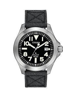citizen-citizen-eco-drive-super-titanium-black-dial-black-kevlar-strap-mens-watch