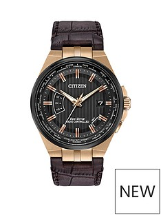 citizen-citizen-eco-drive-world-perpetual-a-t-black-dial-brown-leather-strap-mens-watch