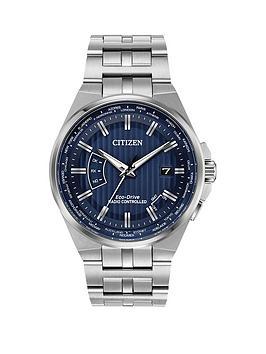 citizen-citizen-eco-drive-world-perpetual-a-t-blue-dial-stainless-steel-bracelet-mens-watch