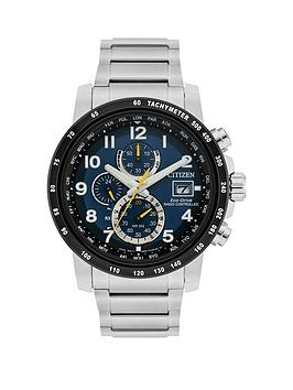 citizen-citizen-eco-drive-world-chronograph-at-blue-dial-stainless-steel-bracelet-mens-watch