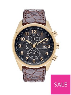 citizen-citizen-eco-drive-world-chronograph-at-limited-edition-grey-dial-brown-crocodile-strap-mens-watch