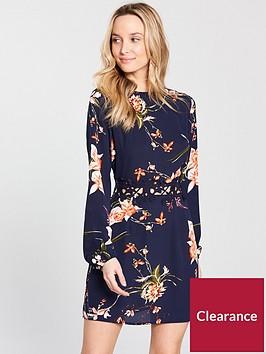 ax-paris-crochet-waist-printed-day-dress-navynbsp