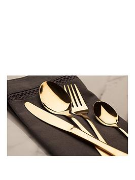 sabichi-gold-16-piece-cutlery-set
