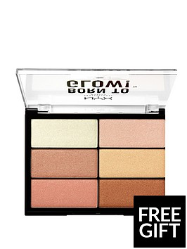 nyx-professional-makeup-born-to-glow-highlighting-palette